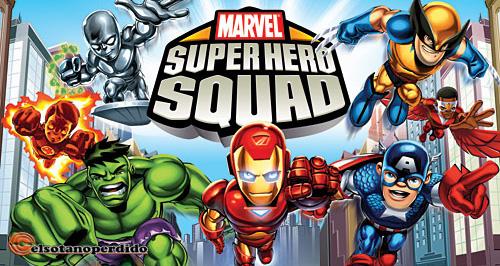 Anunciado el lanzamiento de Marvel Super Hero Squad para el 20 de Octubre