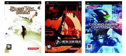 Packs de éxitos clásicos de Konami 2en