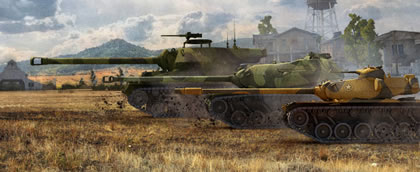 World of Tanks, la actualización al parc