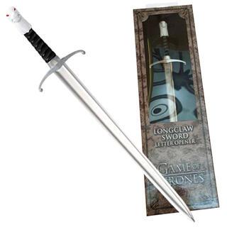 Abrecartas Espada Longclaw Juego de Tronos-