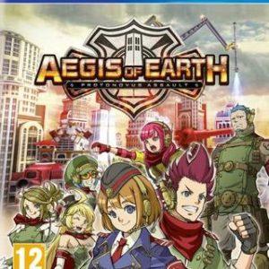 Aegis of Earth Protonovus Assault-Sony Playstation 4