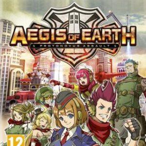 Aegis of Earth Protonovus Assault-Sony Playstation Vita