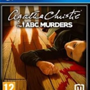 Agatha Christie The ABC Murders-Sony Playstation 4