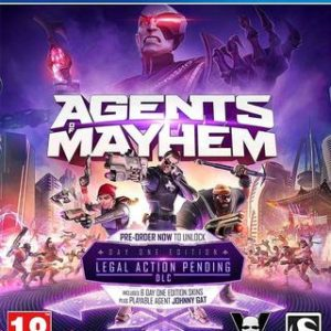 Agents of Mayhem-Sony Playstation 4