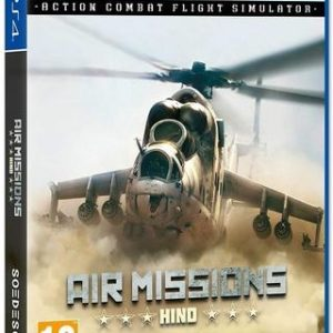 Air Missions Hind-Action Combat Flight Simulator-Sony Playstation 4