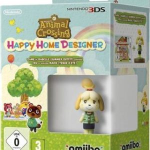Animal Crossing Happy Home Designer + Amiibo Canela Edición Verano-Nintendo 3DS
