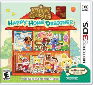 Animal Crossing Happy Home Designer-Nintendo 3DS