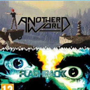 Another World + Flashback-Sony Playstation 4