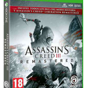 Assassin's Creed 3 Remastered-Microsoft Xbox One