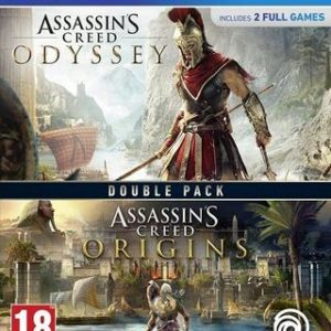 Assassin's Creed: Odyssey + Origins (Pack)-Sony Playstation 4