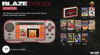 Blaze Evercade Starter Pack + Namco Cartucho 1-Retro