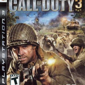 Call of Duty 3-Sony Playstation 3
