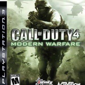 Call of Duty 4 Modern Warfare-Sony Playstation 3