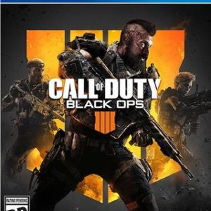 Call of Duty Black Ops 4 (IIII)-Sony Playstation 4