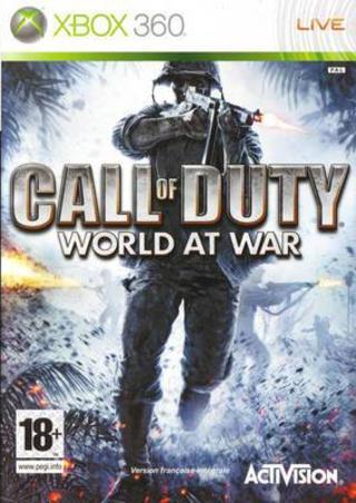 Call of Duty World at War-Microsoft Xbox 360