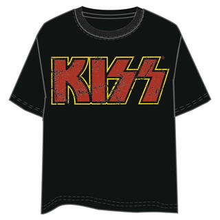 Camiseta Logo Kiss Adulto-