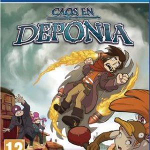 Caos en Deponia-Sony Playstation 4
