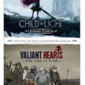 Child of Light Ultimate Edition + Valiant Hearts Great War (2 EN 1)-Nintendo Switch