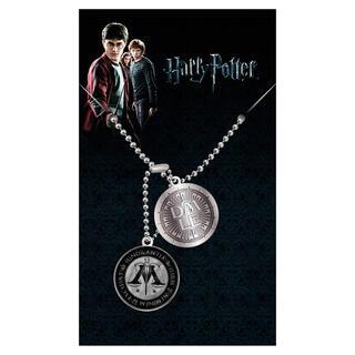 Colgante Placas Identificacion Ministry of Magic Harry Potter-