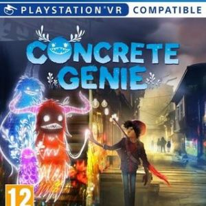 Concrete Genie (VR)-Sony Playstation 4