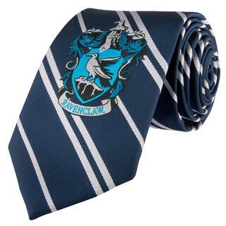 Corbata Infantil Ravenclaw Harry Potter Logo Tejido-