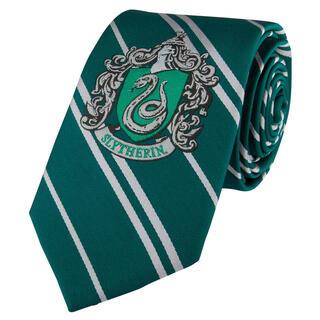 Corbata Infantil Slytherin Harry Potter Logo Tejido-
