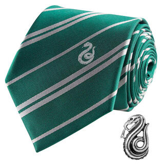 Corbata Slytherin Harry Potter Deluxe-