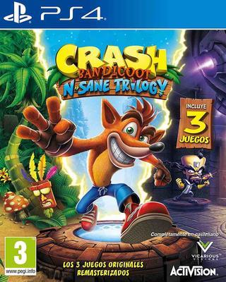 Crash Bandicoot: N. Sane Trilogy-Sony Playstation 4
