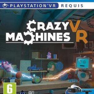 Crazy Machines (VR)-Sony Playstation 4