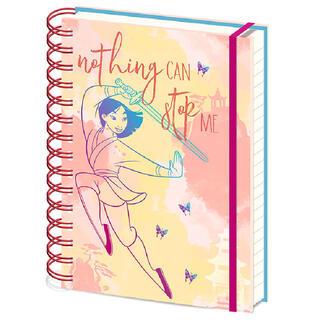 Cuaderno A5 Nothing Can Stop Me Mulan Disney-