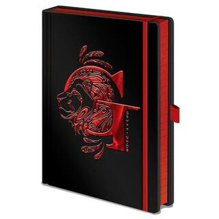 Cuaderno A5 Premium Gryffindor Harry Potter-