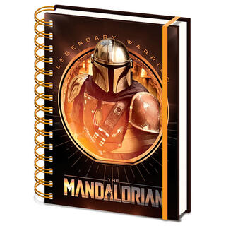 Cuaderno A5 The Mandalorian Star Wars-