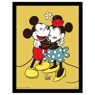 Cuadro Mickey Minnie Love Disney-