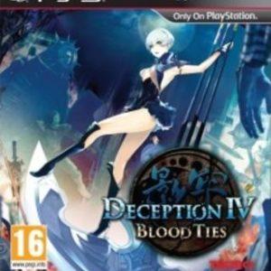 Deception IV: Blood Ties-Sony Playstation 3