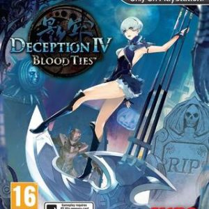 Deception IV: Blood Ties-Sony Playstation Vita