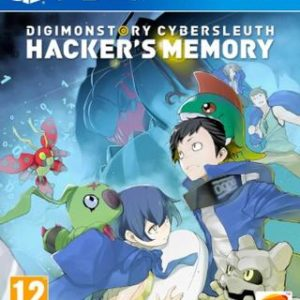 Digimon Story: Cyber Sleuth - Hacker's Memory-Sony Playstation 4