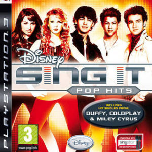 Disney Sing It: Pop Hits-Sony Playstation 3