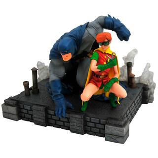 Estatua Batman & Robin The Dark Knight Returns Dc Comics 20cm-