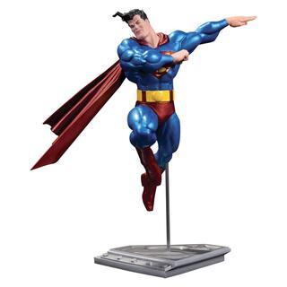 Estatua Superman Dc Comics Metalico Version Frank Miller-