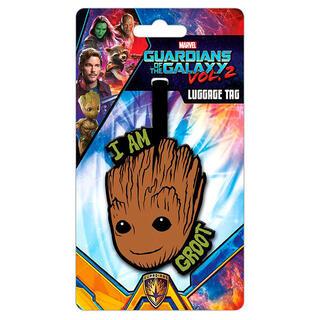 Etiqueta Equipaje Groot Guardianes de la Galaxia Marvel-
