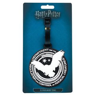 Etiqueta de Equipaje Department for The Regulation and Control of Magical Creatures Harry Potter-