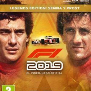 F1 2019 Legends Edition-Microsoft Xbox One
