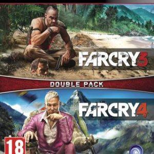 Far Cry 3 + Far Cry 4 - Double Pack-Sony Playstation 3