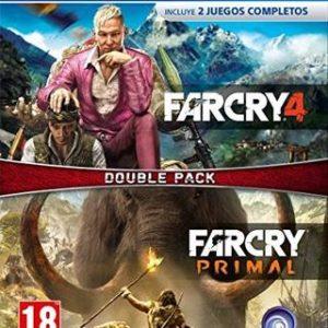 Far Cry 4 + Far Cry Primal-Sony Playstation 4