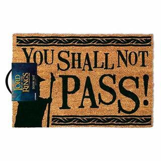 Felpudo el Señor de los Anillos You Shall Not Pass-