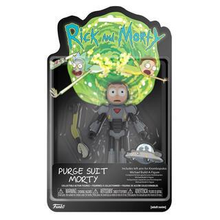 Figura Action Rick & Morty Morty Purge Suit-
