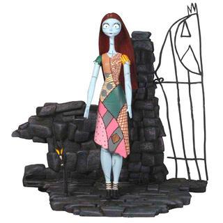 Figura Articulada Sally Pesadilla Antes de Navidad Disney Serie 1 18cm-
