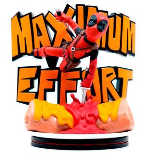Figura Diorama Maximo Esfuerzo Deadpool Marvel 14cm-