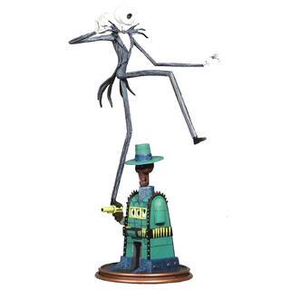 Figura Diorama Oogies Lair Jack Pesadilla Antes de Navidad 35cm-