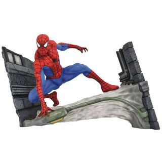 Figura Diorama Spiderman Webbing Marvel Gallery 18cm-